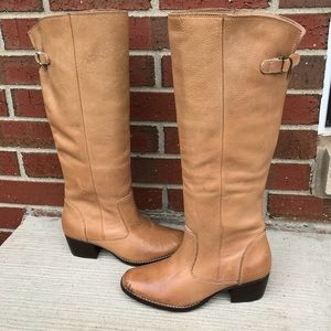 Matisse Tan Leather Western Boots 6M